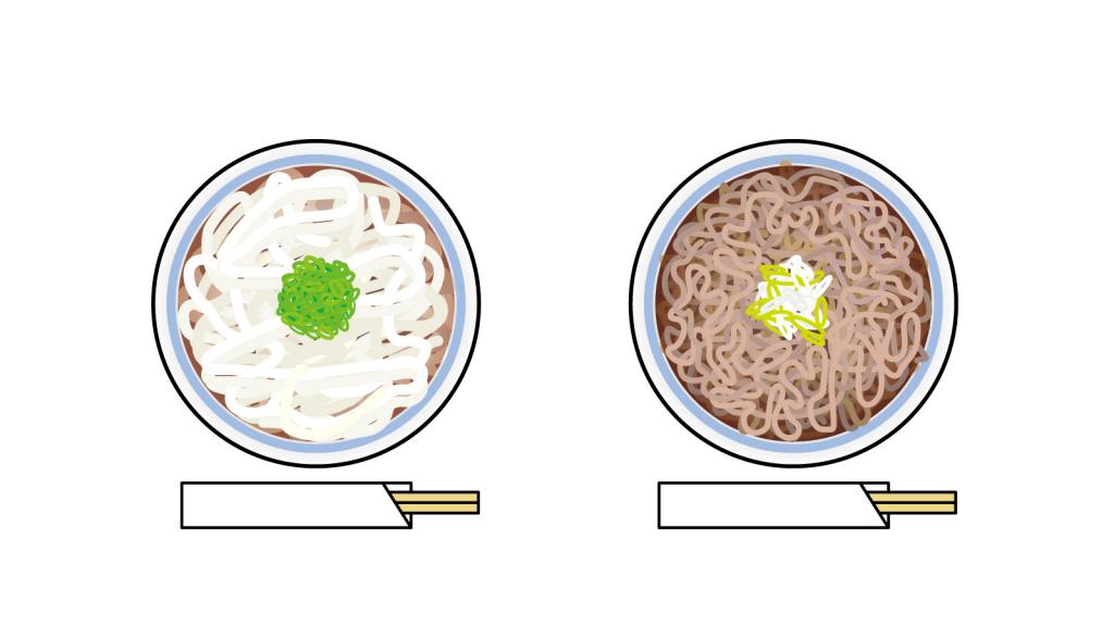 ダイエット に向いているのはうどんと蕎麦どちらか