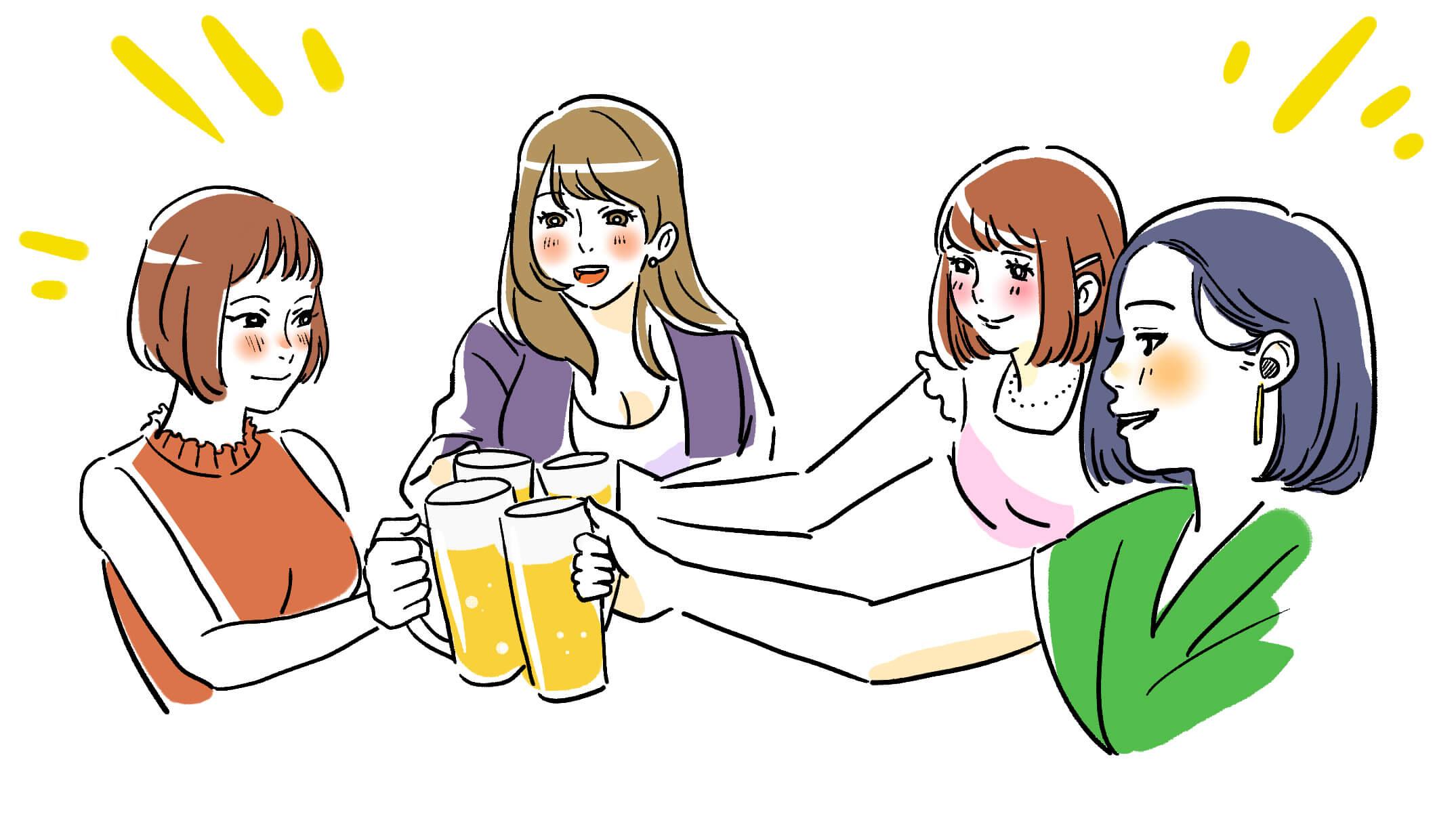 お酒と筋肉
