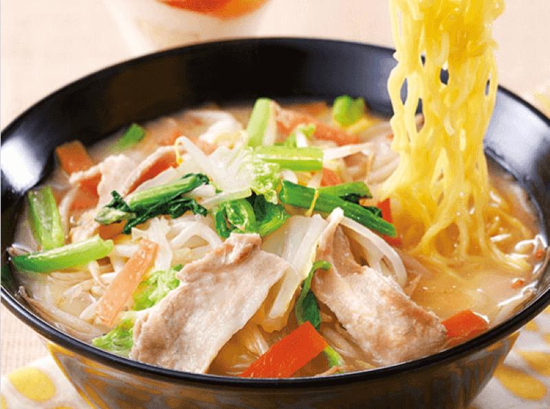 ガスト 1日分の野菜のベジ塩タンメン