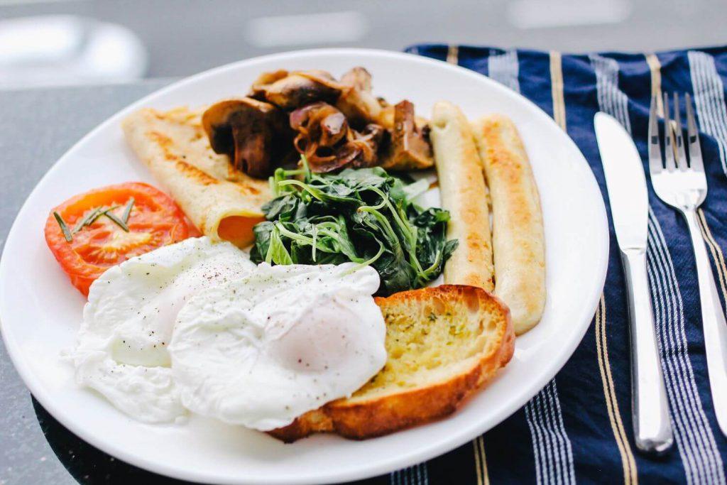 早朝ジムにいく前の朝食一例