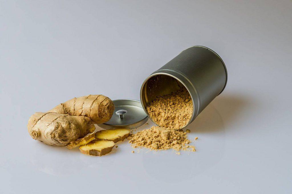 正月太りに効果的な身体を温める効果のあるショウガ