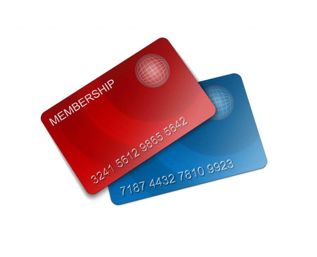 メンバーカードの一例