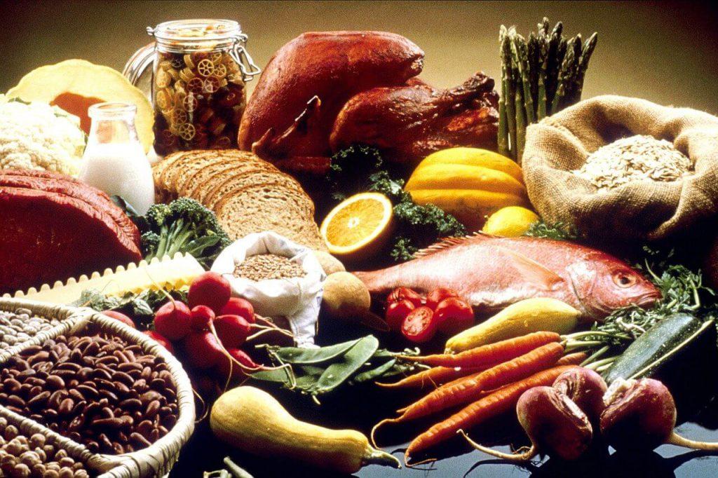 肉、魚、野菜
