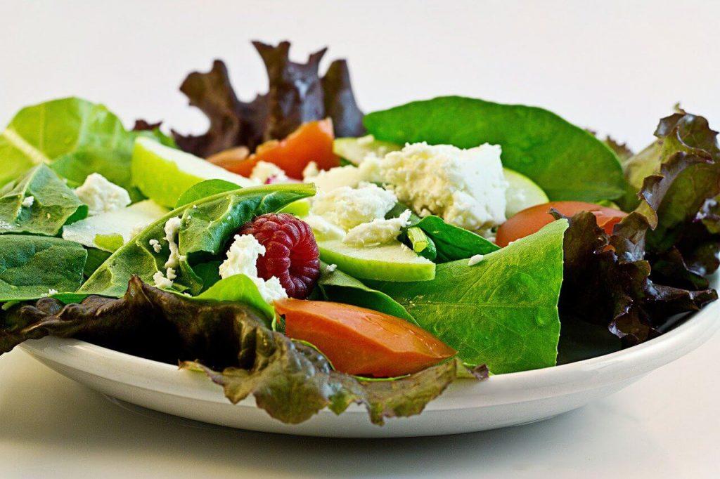 食物繊維、サラダ