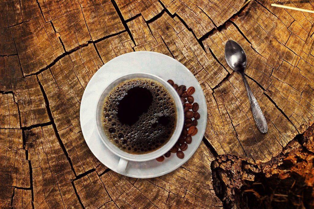 コーヒー、朝食