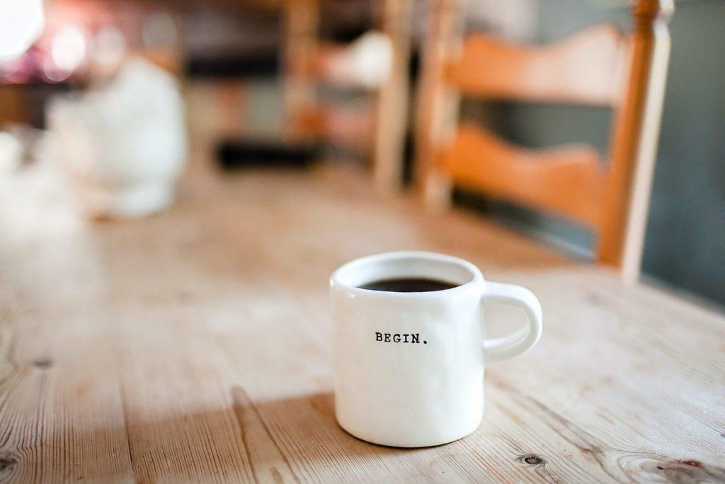 コーヒー、朝の習慣